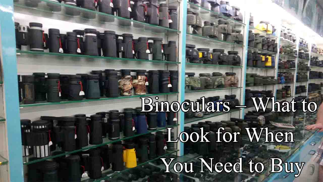 Binoculars – What to Look for When You Need to Buy